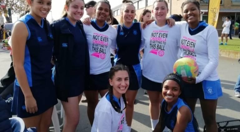 o/17-Netbalspan na Wes-Kaap Topskole-toernooi