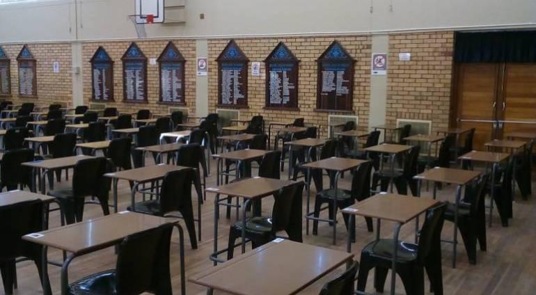 Klasindeling vir Seniors:  November 2019 eksamen